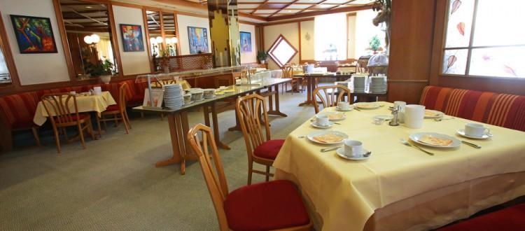 Residenz, Frühstücksraum